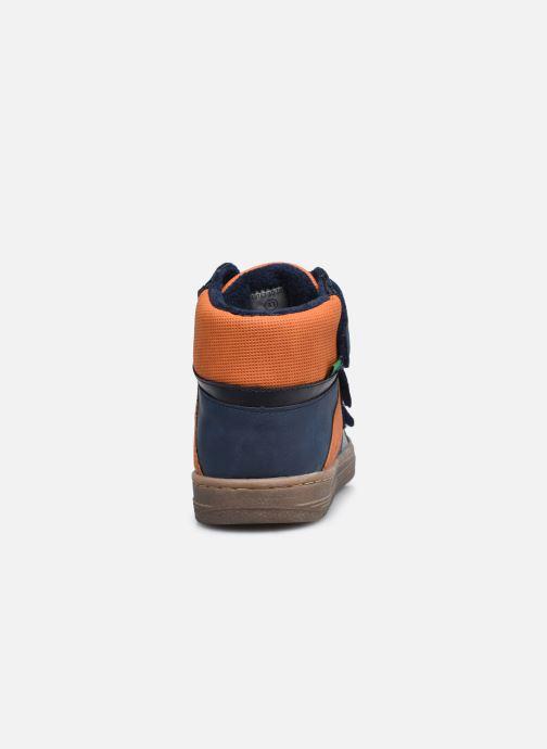 Sneaker Kickers Lohan blau ansicht von rechts
