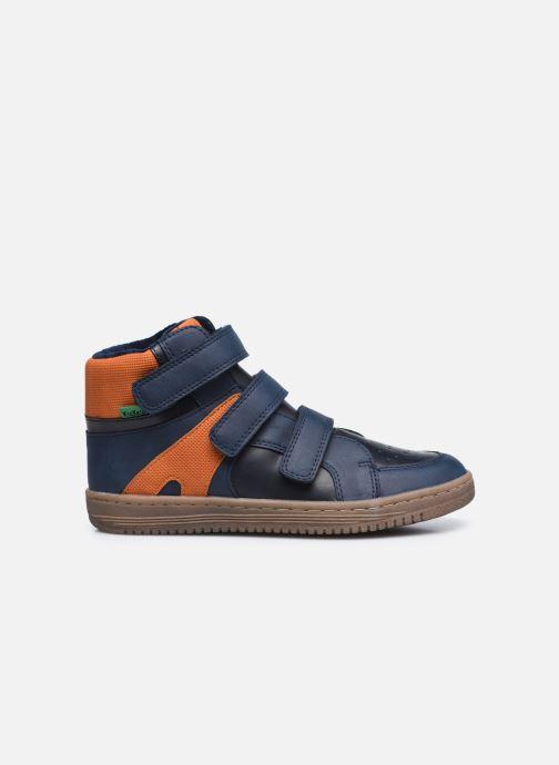 Sneaker Kickers Lohan blau ansicht von hinten