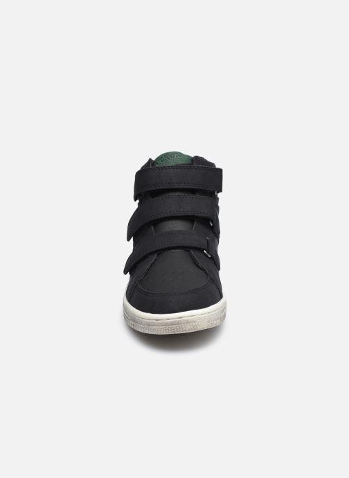 Baskets Kickers Lohan Noir vue portées chaussures