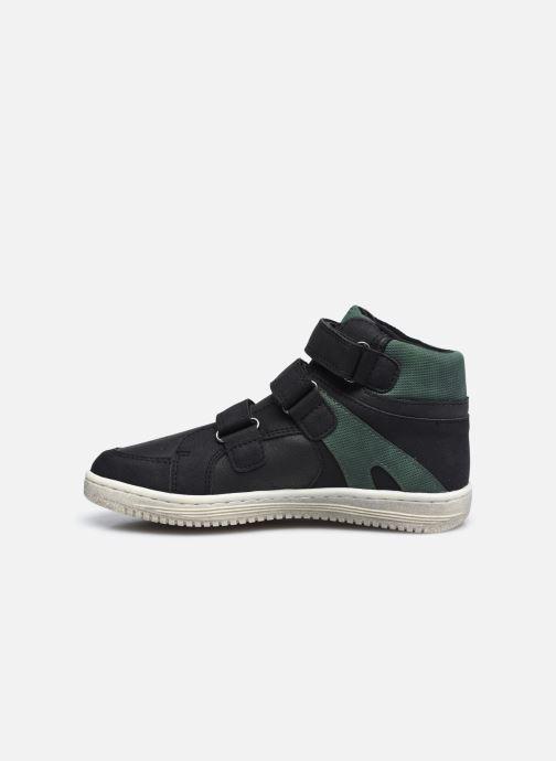 Sneaker Kickers Lohan schwarz ansicht von vorne