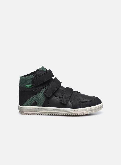 Sneaker Kickers Lohan schwarz ansicht von hinten