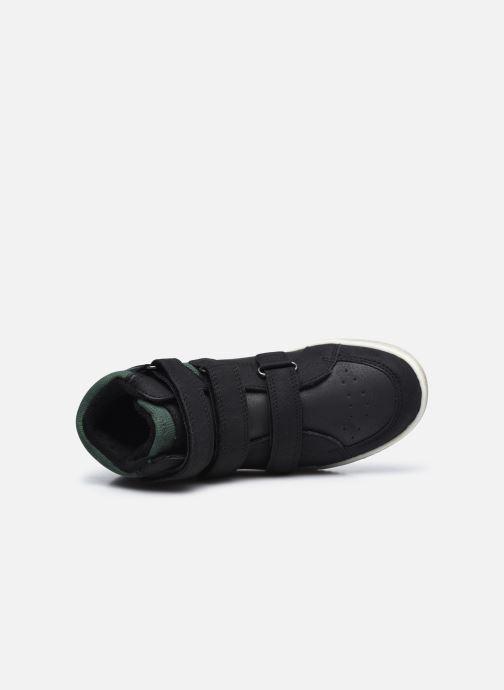 Sneaker Kickers Lohan schwarz ansicht von links