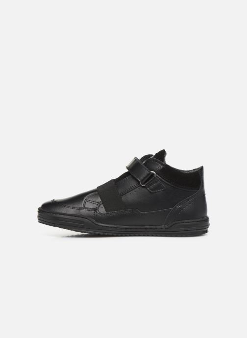 Sneakers Kickers Jinglelast Bts Zwart voorkant