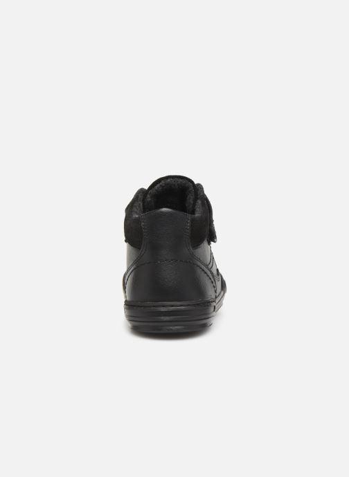 Sneakers Kickers Jinglelast Bts Zwart rechts