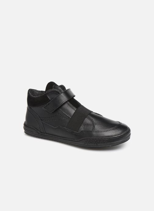 Sneakers Kickers Jinglelast Bts Zwart detail