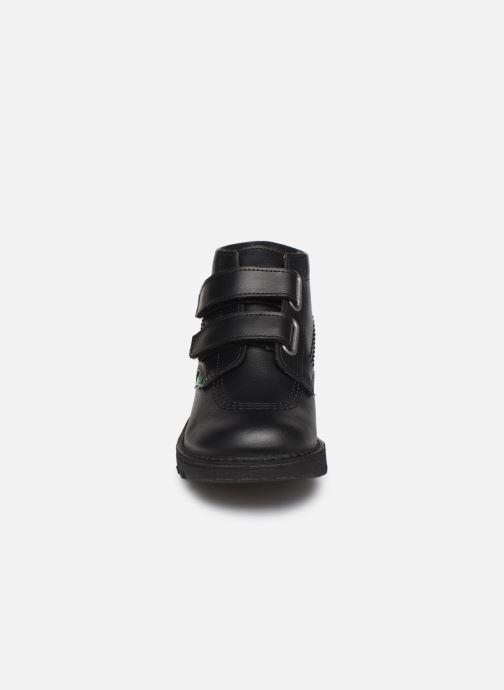 Bottines et boots Kickers Neocro Noir vue portées chaussures