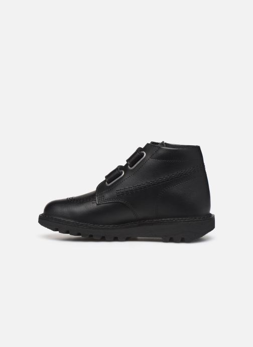 Bottines et boots Kickers Neocro Noir vue face