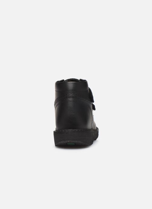 Bottines et boots Kickers Neocro Noir vue droite