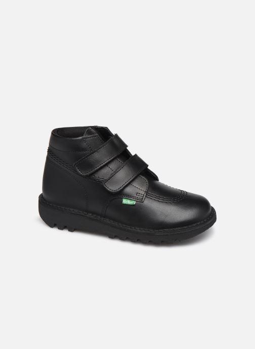 Bottines et boots Kickers Neocro Noir vue détail/paire