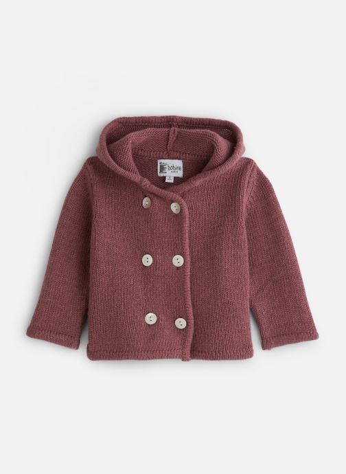 Vêtements Bobine Veste capuche Bordeaux vue détail/paire