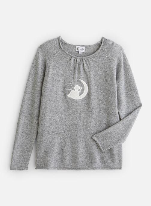 Vêtements Bobine Pull col rond Lune Gris vue détail/paire