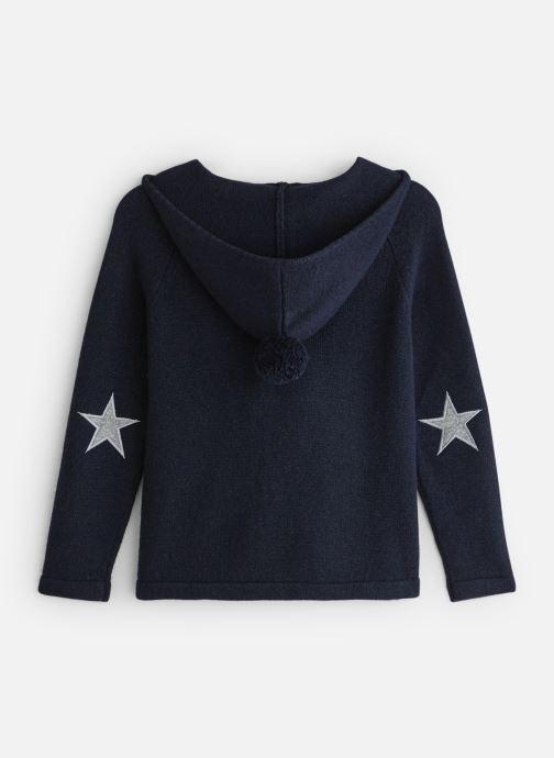 Vêtements Bobine Pull Capuche Bleu vue bas / vue portée sac