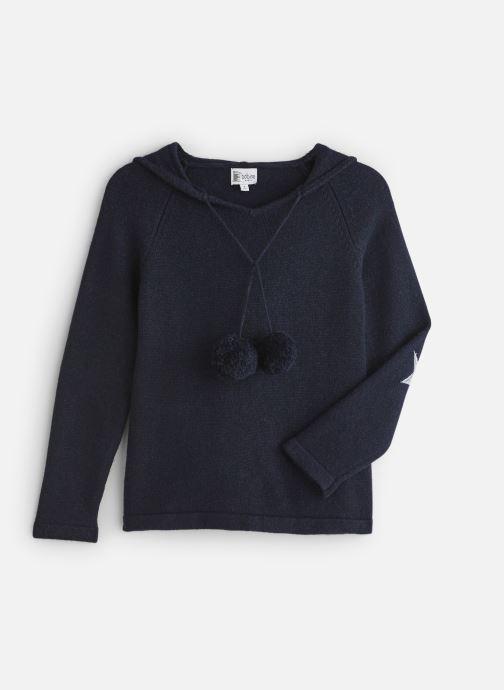 Vêtements Bobine Pull Capuche Bleu vue détail/paire