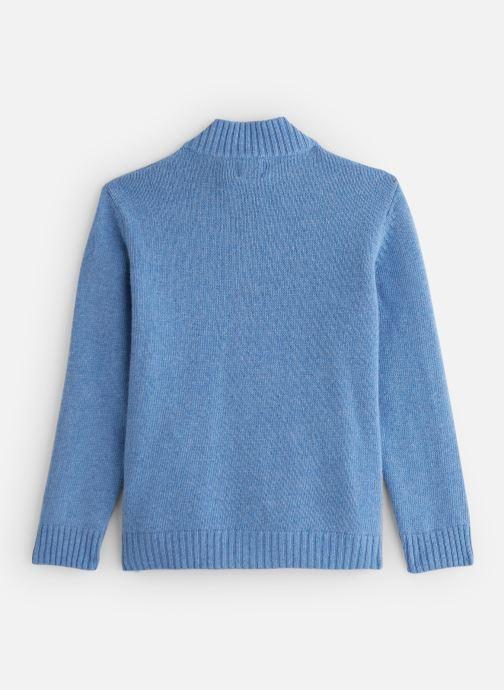 Vêtements Bobine Gilet Zippé Bleu vue bas / vue portée sac