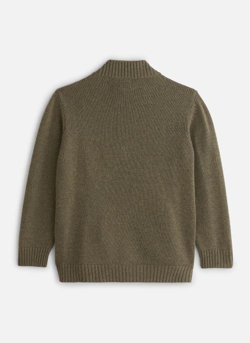 Vêtements Bobine Gilet Zippé Vert vue bas / vue portée sac