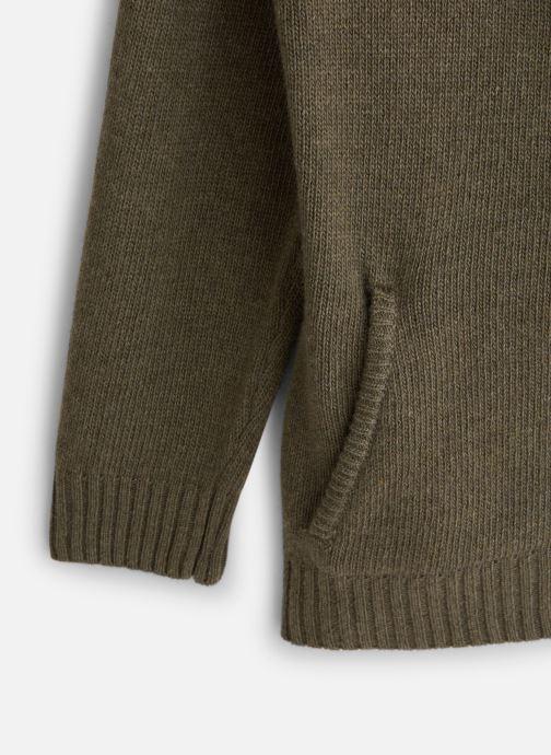 Vêtements Bobine Gilet Zippé Vert vue portées chaussures