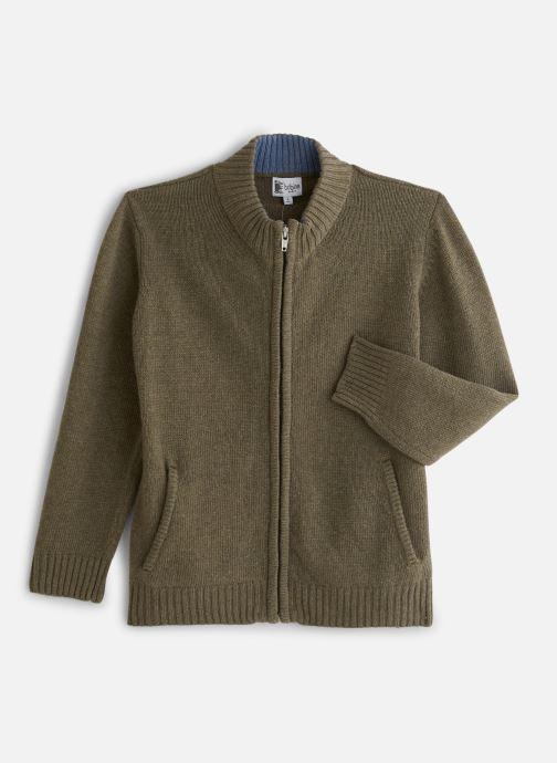 Vêtements Bobine Gilet Zippé Vert vue détail/paire