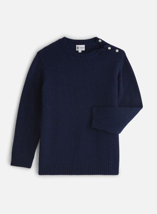 Vêtements Bobine Pull Boutonnage Côté Bleu vue détail/paire