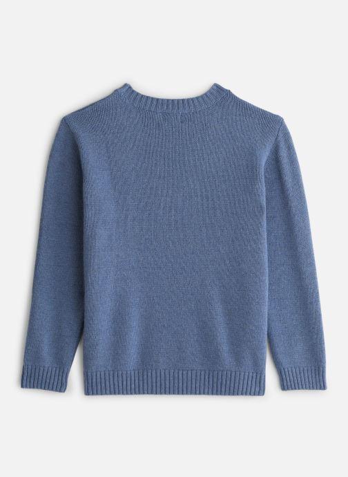Vêtements Bobine Pull Boy Voiture Bleu vue bas / vue portée sac