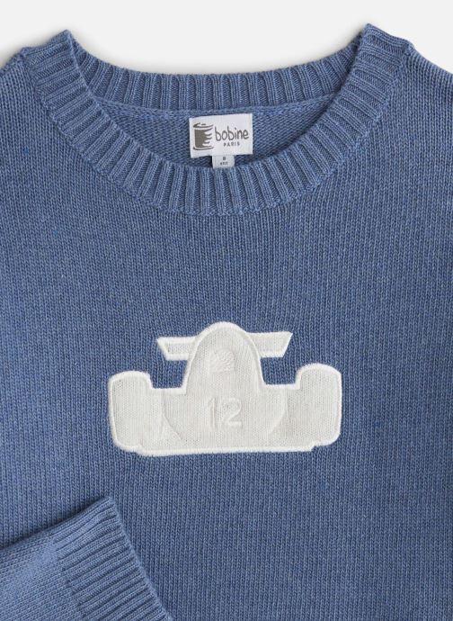 Vêtements Bobine Pull Boy Voiture Bleu vue portées chaussures
