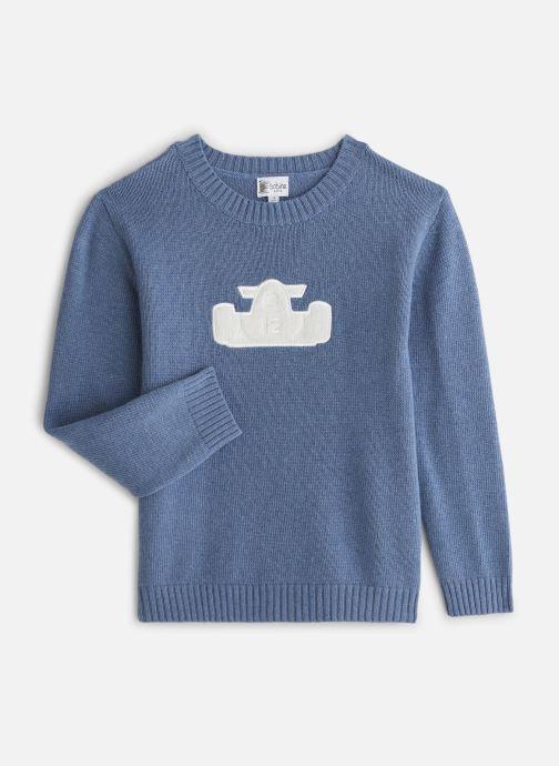 Vêtements Bobine Pull Boy Voiture Bleu vue détail/paire