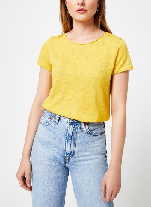 Vêtements Marie Sixtine T-SHIRT LILI Jaune vue détail/paire
