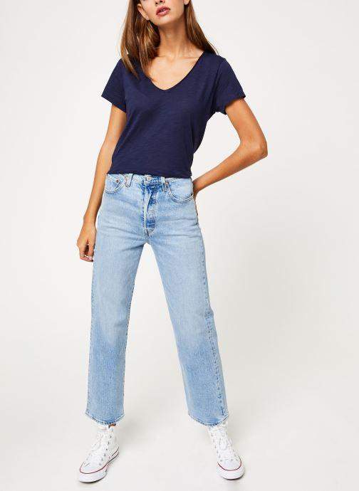 Vêtements Marie Sixtine T-SHIRT NOE Bleu vue bas / vue portée sac