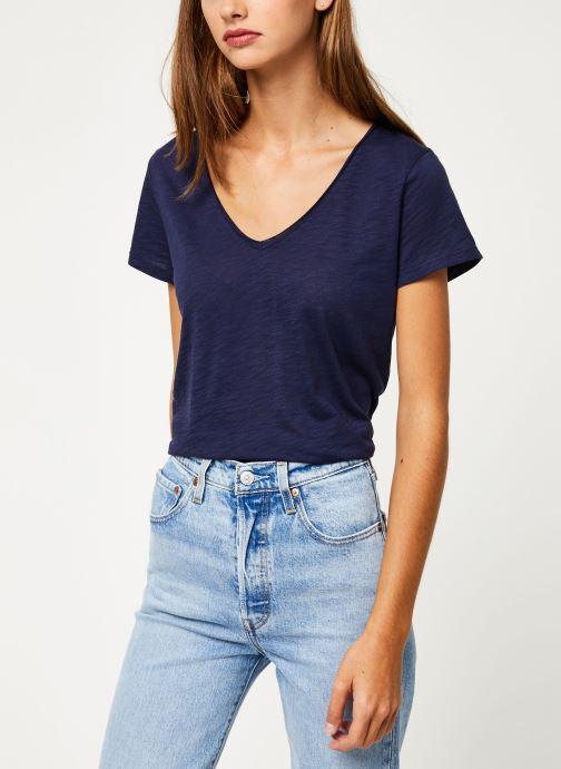 Vêtements Marie Sixtine T-SHIRT NOE Bleu vue détail/paire