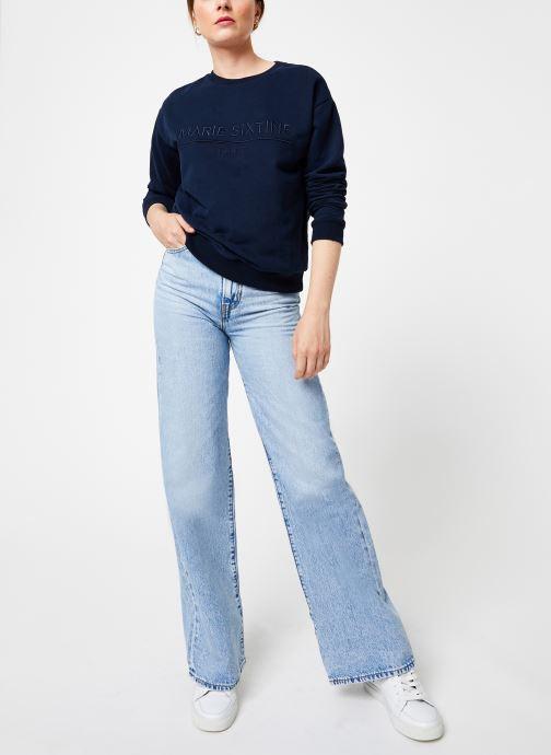 Vêtements Marie Sixtine SWEATER MARION Bleu vue bas / vue portée sac