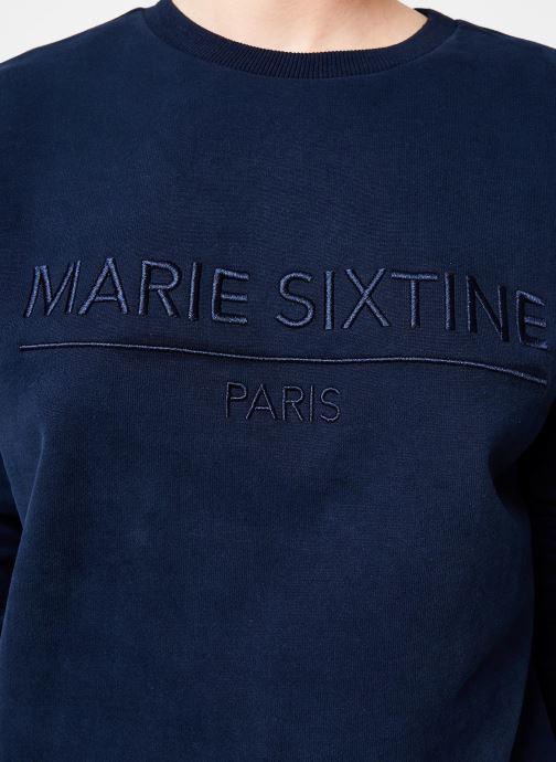 Vêtements Marie Sixtine SWEATER MARION Bleu vue face