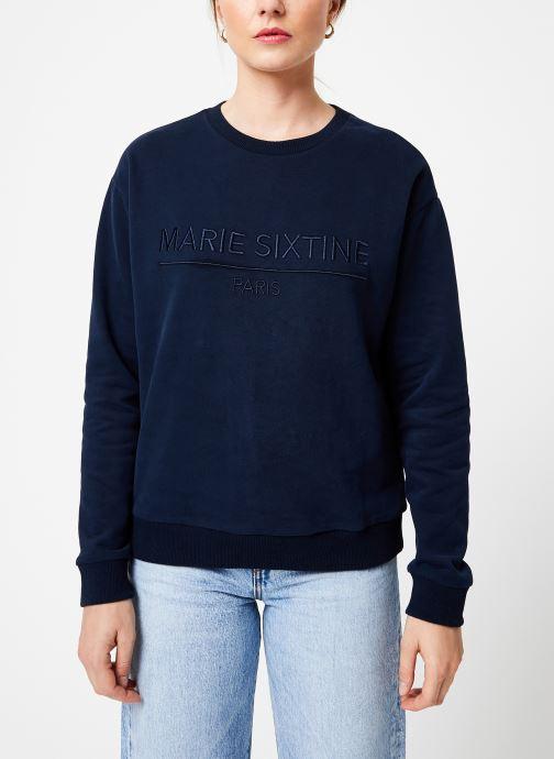 Vêtements Marie Sixtine SWEATER MARION Bleu vue droite