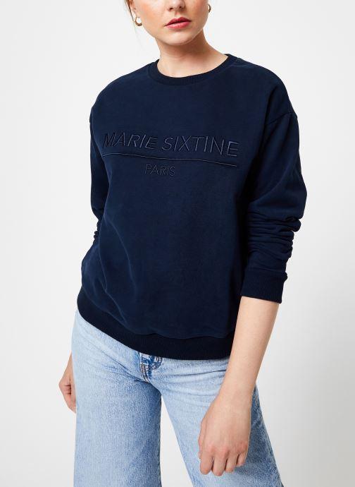 Vêtements Marie Sixtine SWEATER MARION Bleu vue détail/paire