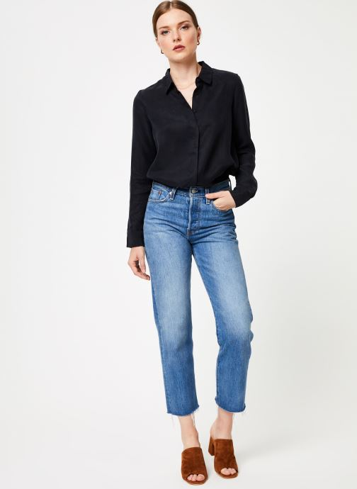 Vêtements Marie Sixtine SHIRT ALYSSA Noir vue bas / vue portée sac