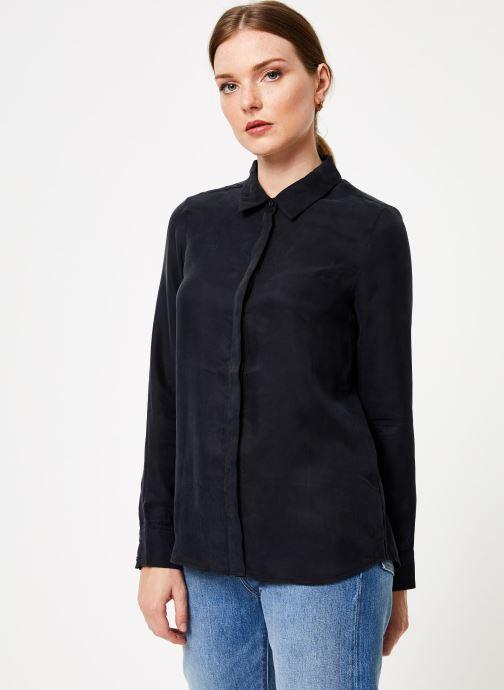 Vêtements Marie Sixtine SHIRT ALYSSA Noir vue droite