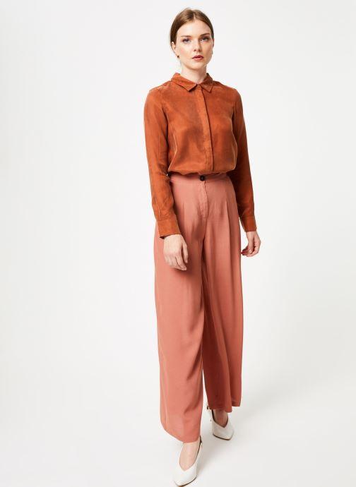 Vêtements Marie Sixtine SHIRT ALYSSA Orange vue bas / vue portée sac