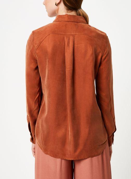 Vêtements Marie Sixtine SHIRT ALYSSA Orange vue portées chaussures