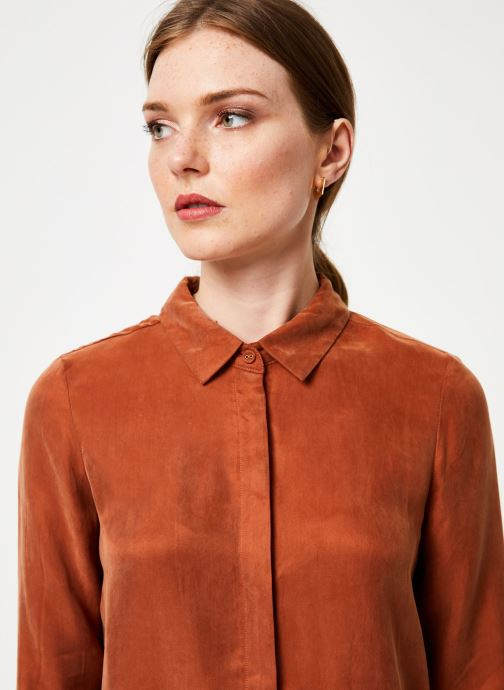 Vêtements Marie Sixtine SHIRT ALYSSA Orange vue face