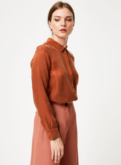 Vêtements Marie Sixtine SHIRT ALYSSA Orange vue droite