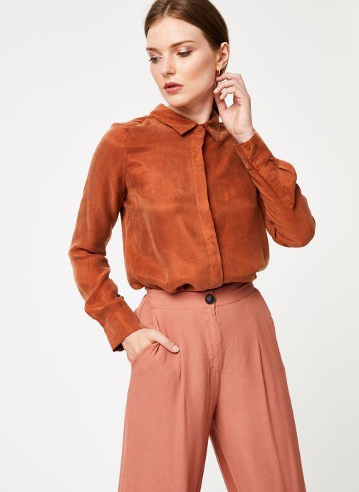 Vêtements Marie Sixtine SHIRT ALYSSA Orange vue détail/paire