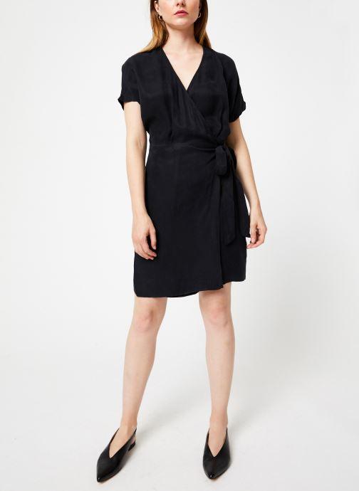 Vêtements Marie Sixtine DRESS LISETTE Noir vue bas / vue portée sac
