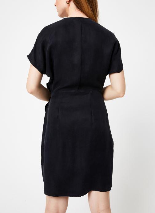 Vêtements Marie Sixtine DRESS LISETTE Noir vue portées chaussures