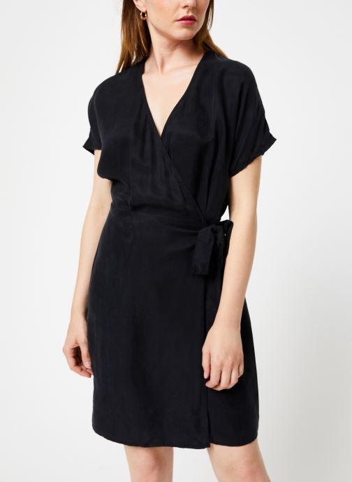 Vêtements Marie Sixtine DRESS LISETTE Noir vue droite