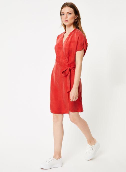 Vêtements Marie Sixtine DRESS LISETTE Rouge vue bas / vue portée sac