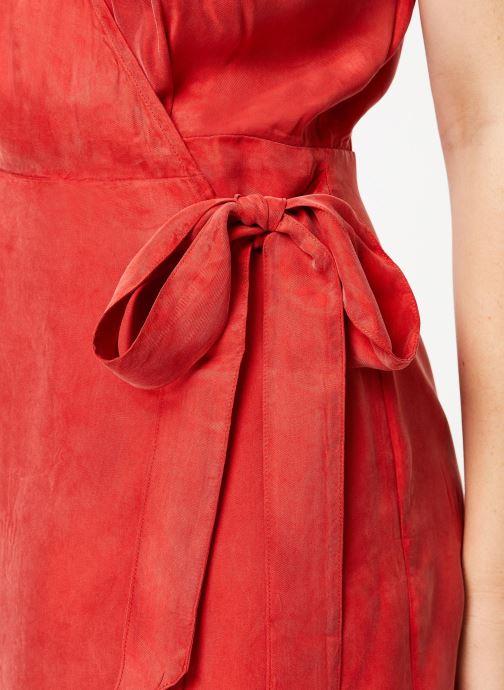 Vêtements Marie Sixtine DRESS LISETTE Rouge vue face