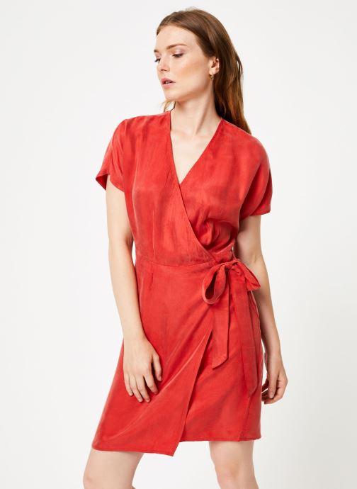 Vêtements Marie Sixtine DRESS LISETTE Rouge vue droite