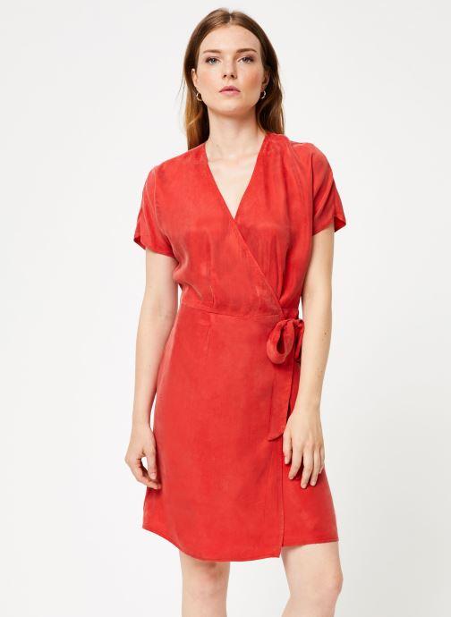 Vêtements Marie Sixtine DRESS LISETTE Rouge vue détail/paire