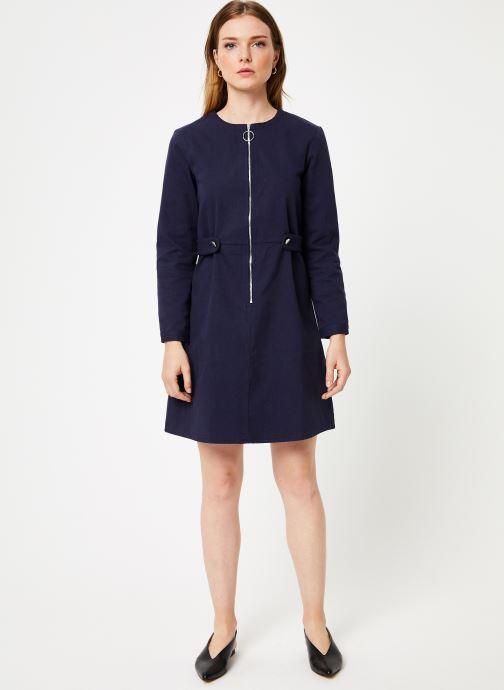 Vêtements Marie Sixtine DRESS MARISE Bleu vue bas / vue portée sac