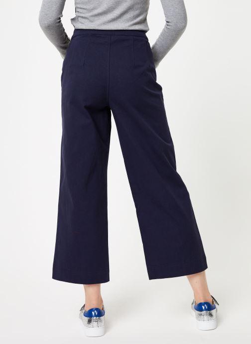 Vêtements Marie Sixtine PANTS MALONE Bleu vue portées chaussures