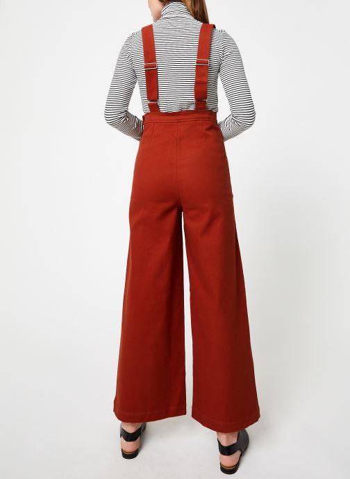 Vêtements Marie Sixtine JUMPSUIT ADELE Orange vue portées chaussures