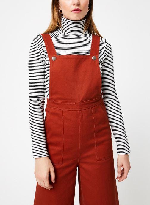 Vêtements Marie Sixtine JUMPSUIT ADELE Orange vue droite